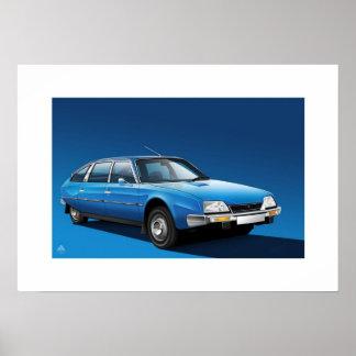 Citroen CX 2200 Poster Print