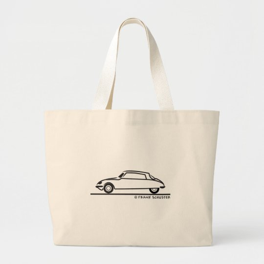 Citroën DS 21 Large Tote Bag