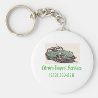 citroen_ds, Citron Import Services(732) 363-8211 Keychain