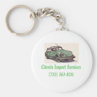 citroen_ds, servicios cítricos de la importación ( llavero