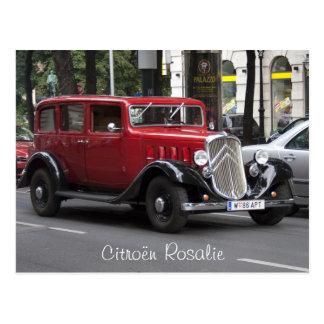 Citroen Rosalie Postcard