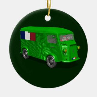 Citroen Type H Van Tube Christmas Tree Ornaments