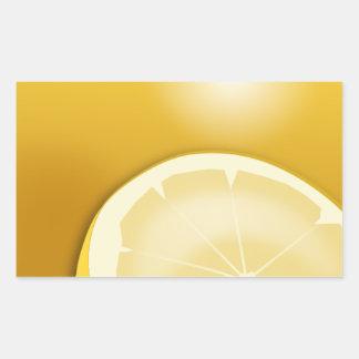 citron-154449 citron citrus fruits food lemon slic rectangular sticker