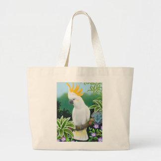 Citron Cockatoo Tote Bag