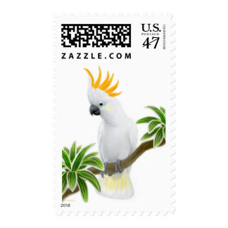 Citron Crested Cockatoo Postage