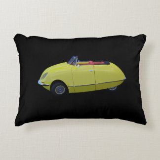 Citron-DS Cabrio Yellow Accent Pillow