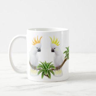 Citron & Sulfur Cockatoos Mug