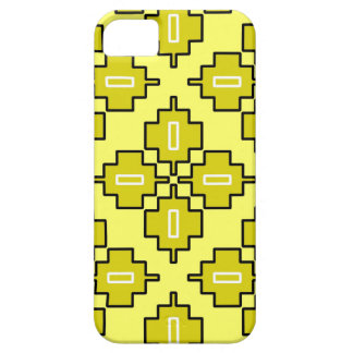 citronella and lime geometric iPhone case