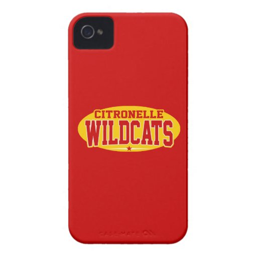 Citronelle High School; Wildcats Case-Mate iPhone 4 Cases