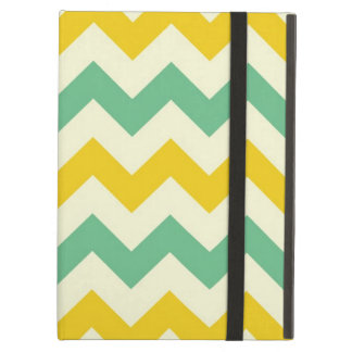 Citrus and Lime Chevron Zigzags Yellow Green iPad Air Covers
