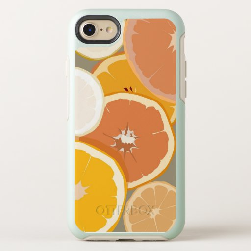 Citrus Art Phone Case - Orange Lemon Grapefruit