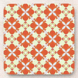 Citrus Avunclover Nostaligic Pattern Coasters