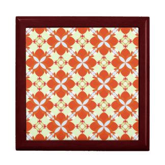 Citrus Avunclover Nostaligic Pattern Keepsake Boxes