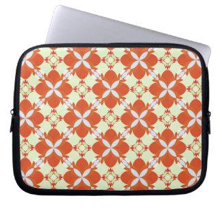 Citrus Avunclover Nostaligic Pattern Laptop Sleeve