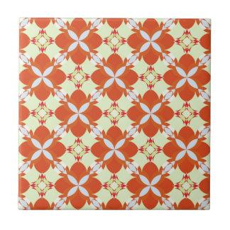 Citrus Avunclover Nostaligic Pattern Ceramic Tiles