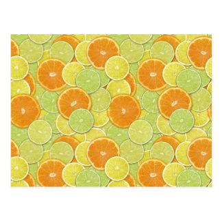 Citrus Benefits Postcard