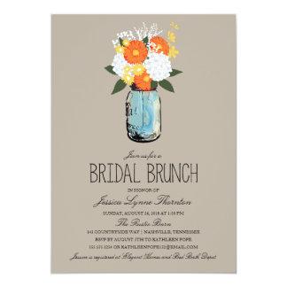 Citrus Bloom Mason Jar | Bridesmaid Brunch Card