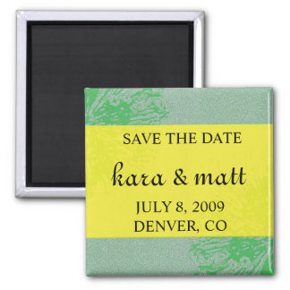 Citrus Blossom Save the Date Magnets