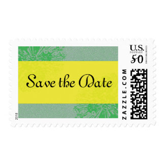 Citrus Blossom Save the Date Stamp