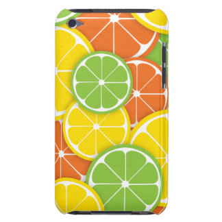 Citrus crush juicy round lemon lime orange slices iPod Case-Mate cases