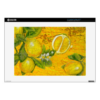 Citrus Decal For Laptop