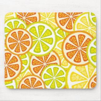 citrus design mouse pad