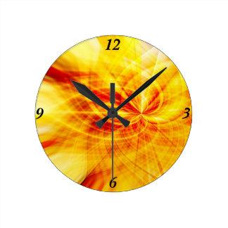 Citrus Dreams Clock
