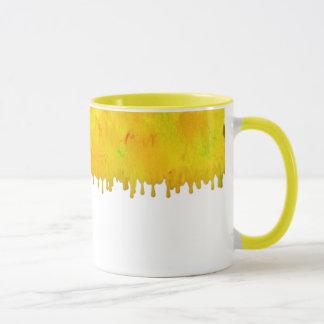 Citrus Drip White Mug