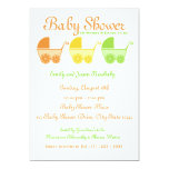 "Citrus Fruit Baby Shower 5"" X 7"" Invitation Card"