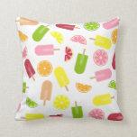 Citrus Fruit Ice Pop Pillow