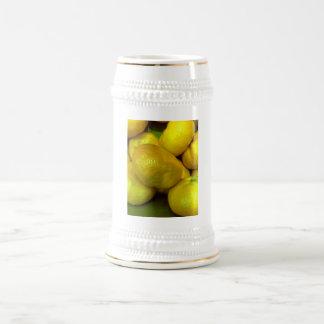 Citrus Fruit 18 Oz Beer Stein