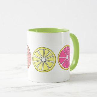 Citrus Fruit Orange Grapefruit Lemon Lime Tropical Mug