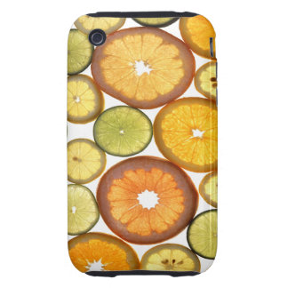Citrus Fruit Slices Blackberry Curve Case-Mate Cas Tough iPhone 3 Cover