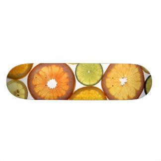 Citrus Fruit Slices Skate Decks