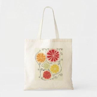 Citrus Fruit Tote Bag