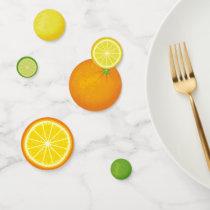 Citrus Fruits Confetti