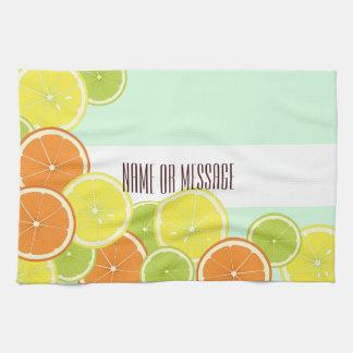 Citrus Fruits Original Design Personalized Kitchen Towel