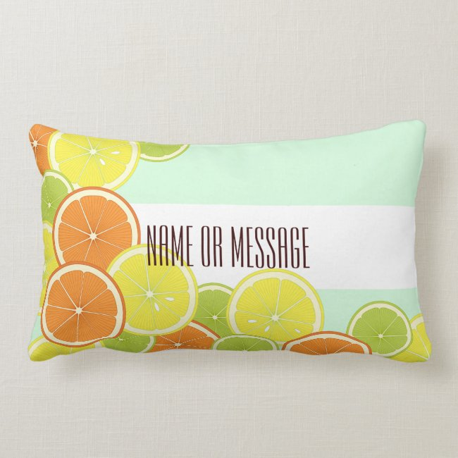 Citrus Fruits Original Design Personalized