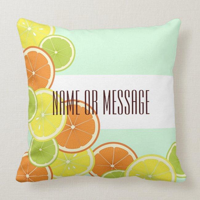 Citrus Fruits Original Design Personalized
