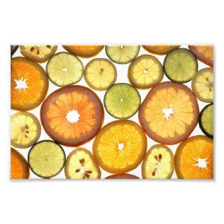 Citrus Fruits Art Photo