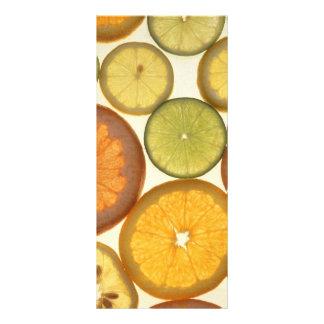Citrus fruits full color rack card
