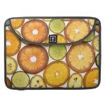 Citrus Fruits Sleeve For MacBook Pro