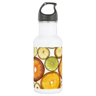 Citrus Fruits Stainless Steel Water Bottle