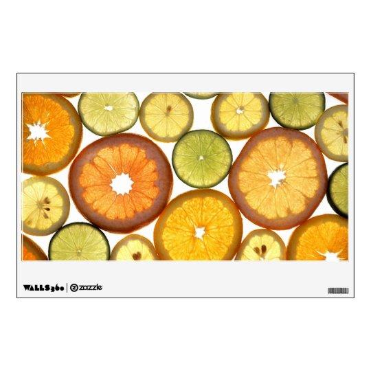 Citrus Fruits Wall Sticker