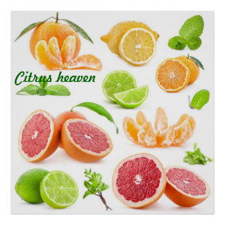 Citrus heaven for those fruit lovers out there poster