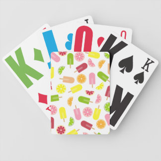 Citrus Ice Pops Playing Cards