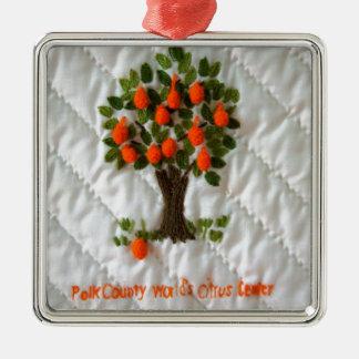 Citrus Leader Metal Ornament