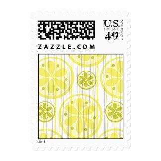 Citrus Lemon and Lime Stamp