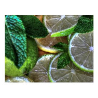 Citrus Limes Postcard