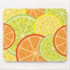 citrus mouse pad